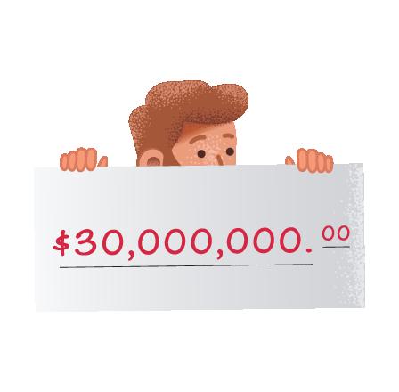 Grandes premios del MillionDay de Italia