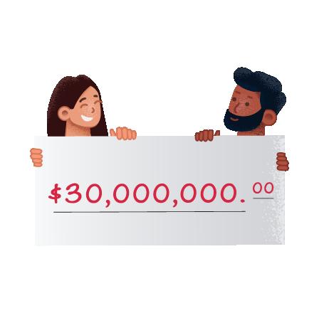 Grandes ganadores de la lotería Bonoloto de España