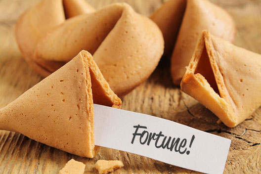 lottery fortune cookie